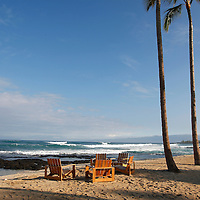 HAWAIIAN SPIRIT : ANOTHER DAY IN PARADISE. OCEAN, SHORE, SURFING, FISHING, CRUISING, GOLF COURSE, PERFECT BEACH, VOLCANO