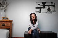 Emma O' Reilly, cyclist Lance Armstrong's masseuse and former soigneur for the United States Postal Service cycling team, photographed at her home in Lymm, Cheshire, Britain.