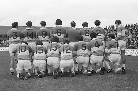 20.08.1972 Senior Semi Final at Croke Park.Donegal v Offaly..Offaly Team