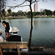 Hanoi. Th generation gap is very large.