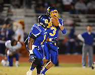 Oxford High's Parker Adamson (3) vs. Saltillo in Oxford, Miss. on Friday, October 19, 2012. Oxford won to improve to 9-0.