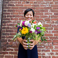Best of 2015<br /> <br /> Best Flower Delivery - Alison Song <br /> <br /> Photographed at The Goat Farm<br /> <br /> Credit: Eric Cash