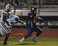 Oxford High's Mont Dean (22) runs for a touchdown vs. Senatobia in high school football in Oxford, Miss. on Friday, September 9, 2011. Oxford won 40-20. Dean scored five touchdowns on the night.