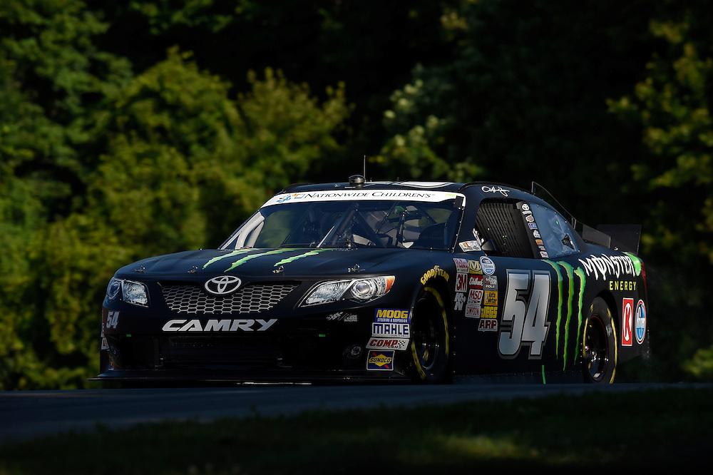 15-16 August, 2014, Lexington, Ohio USA<br /> Sam Hornish Jr, Monster Energy Toyota Camry<br /> &copy;2014, Scott R LePage <br /> LAT Photo USA