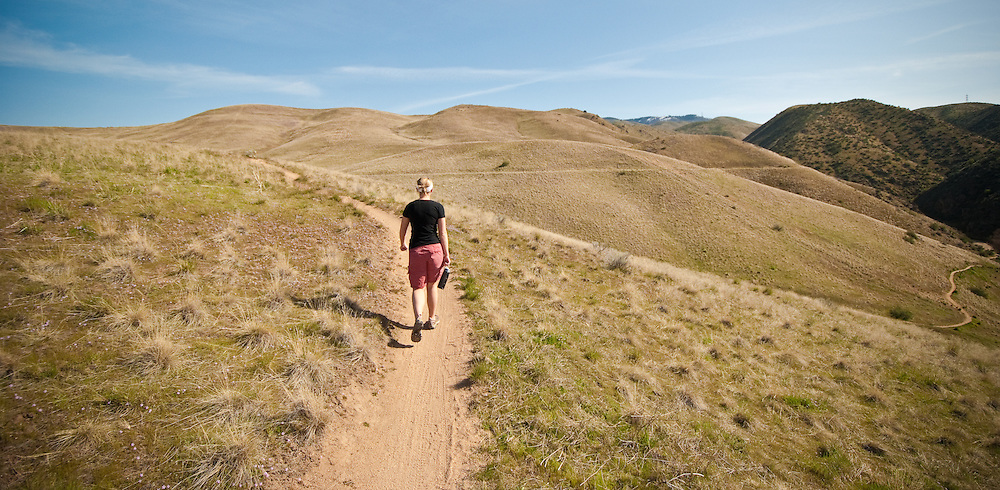 Hiking the High Desert Trails, Boise, Idaho, USA | Strickler ...