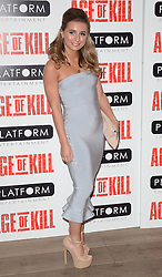 Dani Dyer attends Age of Kill VIP Screening at the Ham Yard Hotel, Soho, London on Wednesday 1 April 2015