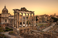 The Roman Forum was for centuries the center of Roman public life: the site of triumphal processions and elections; the venue for public speeches, criminal trials, and gladiatorial matches; and the nucleus of commercial affairs. Here statues and monuments commemorated the city's great men.