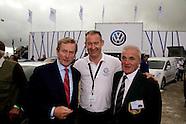 Taoiseach Enda Kenny at  Volkswagen Ireland Stand