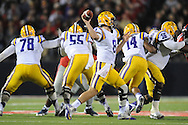 Ole Miss vs. LSU at Vaught-Hemingway Stadium in Oxford, Miss. on Saturday, October 19, 2013. Mississippi won 27-24. (AP Photo/Oxford Eagle, Bruce Newman)