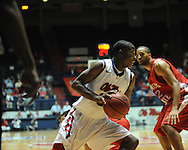 "Ole Miss' Jarvis Summers (32) vs. Illinois State in a National Invitational Tournament game at the C.M. ""Tad"" Smith Coliseum in Oxford, Miss. on Wednesday, March 14, 2012. (AP Photo/Oxford Eagle, Bruce Newman)"