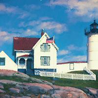 Nubble Lighthouse York, Maine