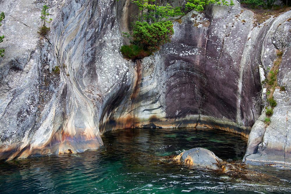Europe, Norway, Lysefjord. Vagabond Cove, Lysefjord.