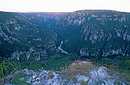 France, Languedoc Roussillon, Lozère, Cévennes, Gorges du Tarn, le point sublime