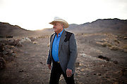 Lance Gilman poses  on his  business park in McCarran, Nev., November 26, 2012.