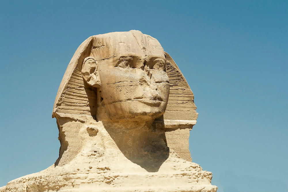 The Sphinx at Gisa