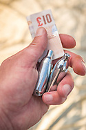 Nitrous Oxide Bulbs, Also know as Laughing Gas or Hippie Crack is used as a recreational drug and is not illegal for over 18's to use.<br /> Drug Charities are warning against using this legal high as it can be fatal - Jun 2015