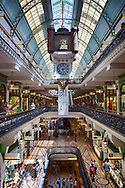 Inside the Queen Victoria Building, Sydney, Australia
