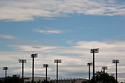 Stadyum lights in Odaiba.