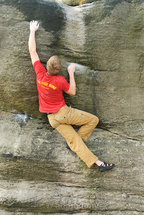 Char on The Good, the Bad and the Beagle, The Eaglestone, 7a, Baslow