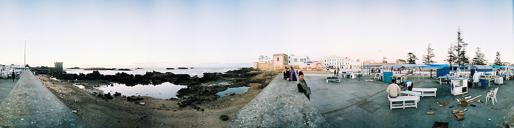 The fish market on the port of Essaouira, Morroco