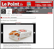 Lucky strike Cigarettes / Le Point.fr / January 2009