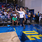 Veronica Dunne a California native, stars as the lead role of Marisa in the Disney Channel series &quot;K.C.Undercover&quot;  participates in The 2015 Duffy's Hope Celebrity Basketball Game Saturday, August 01, 2015, at The Bob Carpenter Sports Convocation Center, in Newark, DEL.    <br /> <br /> Proceeds will benefit The Non-Profit Organization Duffy's Hope Youth Programming.