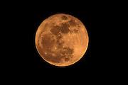 Natural Orange tinted February Full Moon.