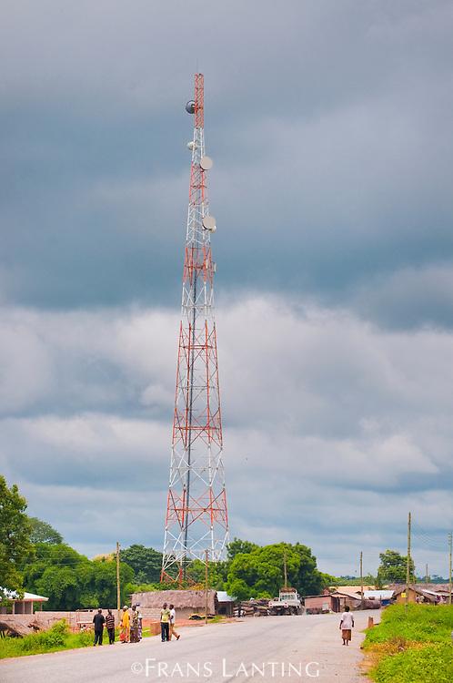 Cellphone tower, Wechiau, Ghana