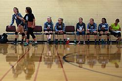 Kuna Klassic volleyball tournament at Kuna High School, Kuna, Idaho, August 28, 2015.