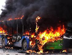 FEB 27 2014 Bus in killing passengers in China