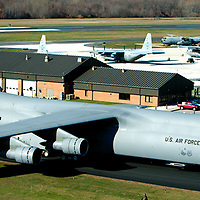 C150 US Air force Aircraft at the New Castle County Airport