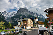"Walk downhill from Eigergletscher train station (Jungfraujoch ""Top of Europe"") to Alpiglen station, in the Grindelwald Valley, Canton of Bern, Switzerland, Europe."