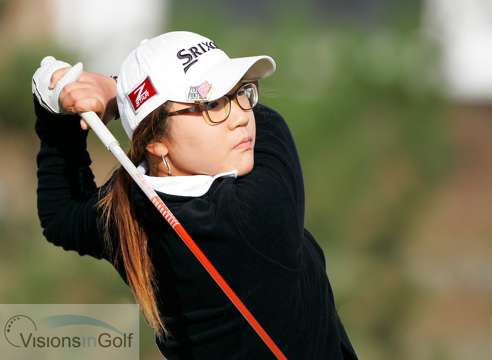 Lydia Ko<br /> Ricoh Womens British Open 2012<br /> Picture Credit: Mark Newcombe  / www.visionsingolf.com