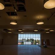 Hemmingson Center tour in April 2015. (Photo by Rajah Bose)