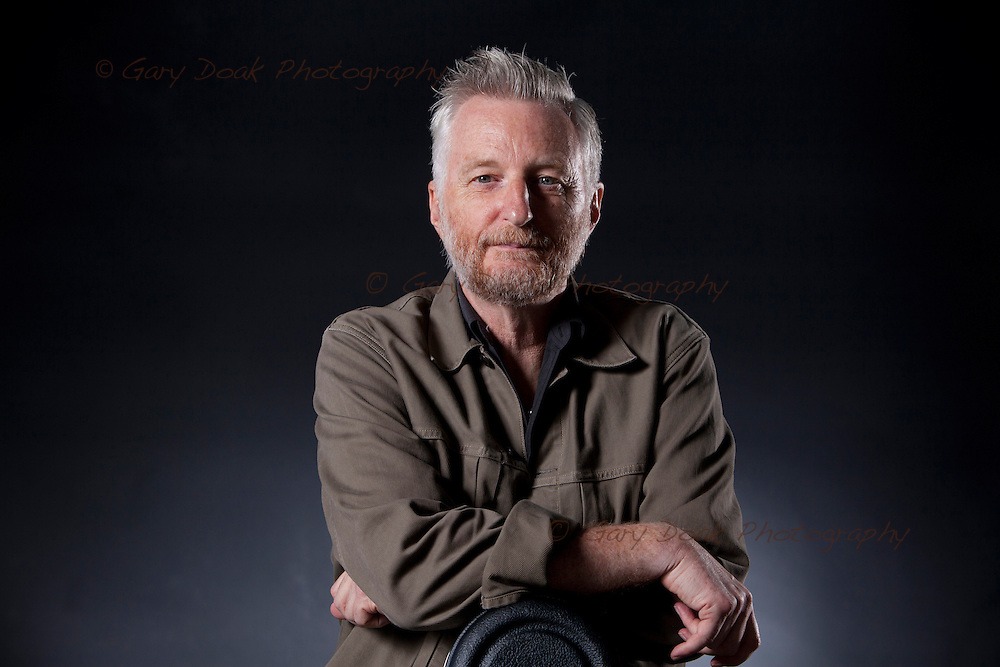 Billy Bragg, the English singer, songwriter and left-wing activist., at the Edinburgh International Book Festival. Edinburgh, Scotland.<br />
