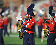 The Ole Miss band plays a pre-game show at Vaught-Hemingway Stadium in Oxford, Miss. on Saturday, September 10, 2011. Ole Miss won 42-24.