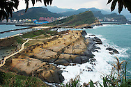 An overview of the most popular area of Yehliu GeoPark.