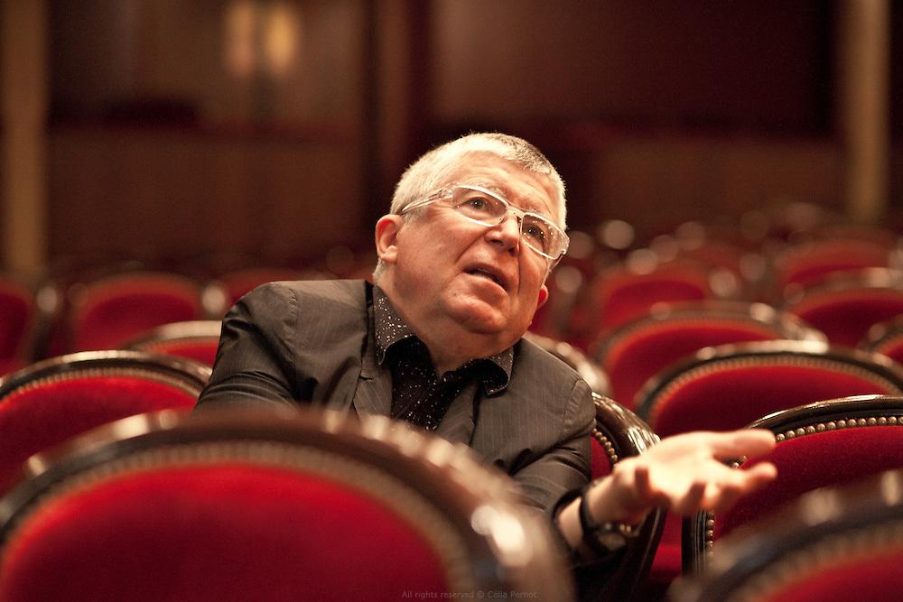 """Les coulisses des préparatifs de la comédie musicale """"Un américain à Paris"""" au Théâtre du Châtelet. Jean-Luc Choplin, directeur du Théâtre du Châtelet."""