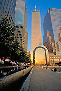 Twin Towers, Winter Garden, World FInancial Center Plaza, Manhattan, New York City, New York, USA
