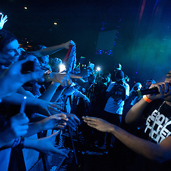 London,UK - 20 April 2013: Wiley performs live during the Boy Better Know gig at The Forum in London