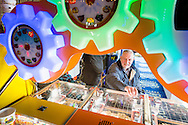 EMBARGOED 00:01 Wednesday 22nd February; 2017.<br /> <br /> A resident from Chestnut View care home playing the penny arcade games while visiting the seafront in Southsea, Hampshire. They are amongst the first of 100,000s of old and vulnerable people to enjoy new Out and About excursions after Oomph! announces nationwide expansion plans today (Wednesday 22nd February).<br /> Out and About tackles a lack of outings for people in care settings due to social care funding cuts. Innovative model offers economies of scale on excursion planning, transport and conductors across care settings in an area.<br /> 80 Out and About minibuses will hit the road in first year thanks to &pound;1.5million investment from Mike Parsons, Care and Wellbeing Fund and Nesta Impact Investments.<br /> Photograph by Christopher Ison &copy;<br /> 07544044177<br /> chris@christopherison.com<br /> www.christopherison.com