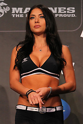 Montreal, Quebec, CAN - November 16, 2012: UFC Octagon Girl Arianny Celeste at the UFC 154 Weigh-Ins at New City Gas in Montreal, Quebec, Canada.