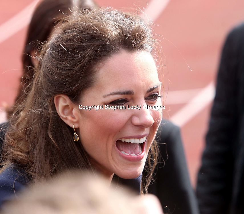Kate Middleton at Witton Country Park in Blackburn, Lancashire . Photo by: Stephen Lock / i-Images