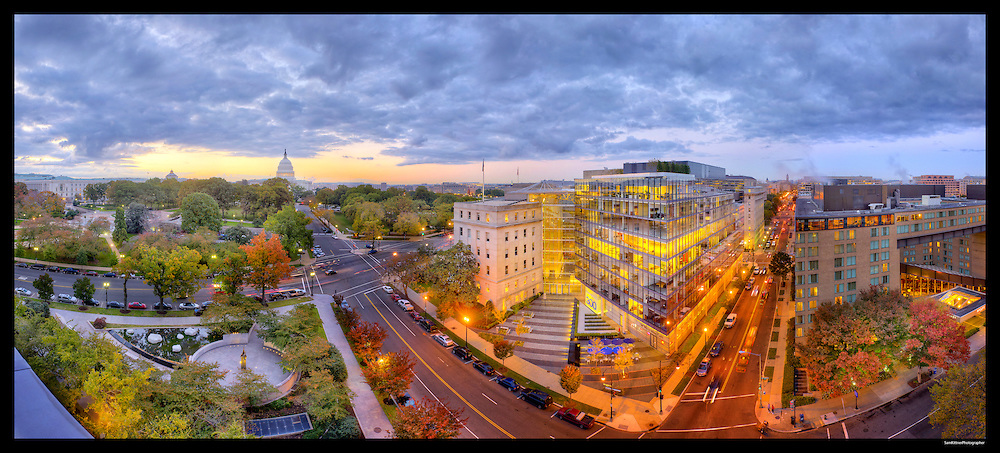 Capitol Hill featuring Captiol and 300 New Jersey Avenue. Image Captured 2011.<br />