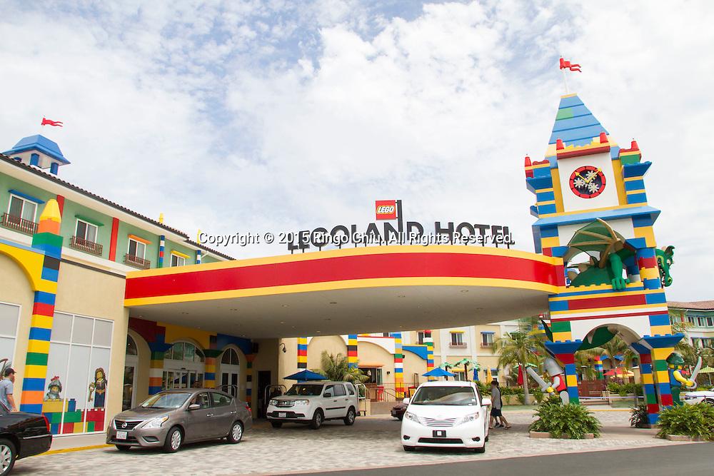 The Legoland Hotel at Legoland in Carlsbad, California. The three-story, 250-room hotel is located at the entrance of Legoland California theme park. (Photo by Ringo Chiu/PHOTOFORMULA.com)