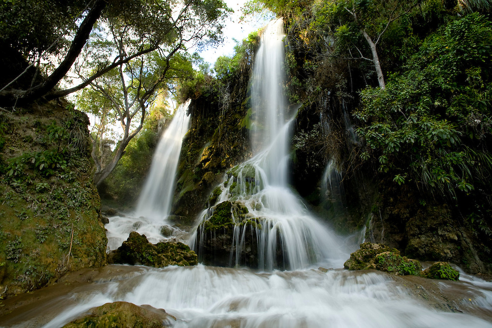 Waterfalls in Sodo, Haiti. Photo by Ben Depp 01.28.2009