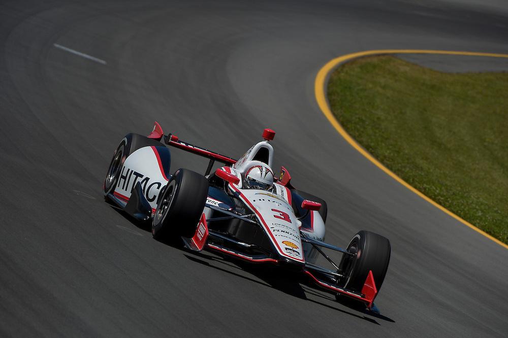 Helio Castroneves, Pocono Raceway, USA 7/6/2014