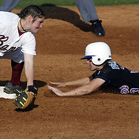Softball vs. Florida.Dominique Accetturo.March 08, 2006..Photos by: Elliot . Knight.
