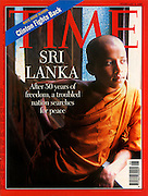 TIME MAGAZINE 1998. Dominic Sansoni. 50 years of Independence for Sri Lanka.