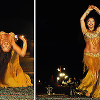 Belly Dancer, Dubai, UAE. Copyright 2014 Terence Carter / Grantourismo. All Rights Reserved.